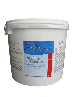 ХЛОР ШОК AQUADOCTOR STABILISED CHLORINE (ГРАНУЛЯТ), 5 КГ