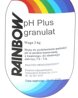 PH PLUS RAINBOW (ГРАНУЛЯТ) – 3 КГ